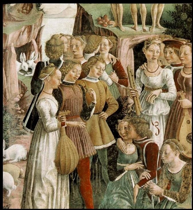 Francesco del Cossa - Aprile, trionfo di Venere